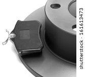 isolated car brake    Shutterstock . vector #161613473