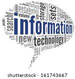 information technology concept...   Shutterstock . vector #161743667