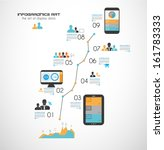 timeline to display your data... | Shutterstock .eps vector #161783333