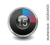 stopwatch icon | Shutterstock . vector #161816423
