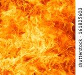blaze fire flame texture... | Shutterstock . vector #161825603