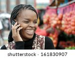 african or black american woman ... | Shutterstock . vector #161830907