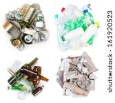 a selection of garbage for... | Shutterstock . vector #161920523