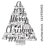 Calligraphy Lettering Christma...
