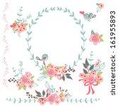 floral design elements | Shutterstock .eps vector #161955893