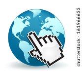 world wide web   Shutterstock .eps vector #161966633