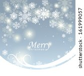 christmas background with... | Shutterstock .eps vector #161999057