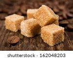 Brown Cane Sugar With Coffee...