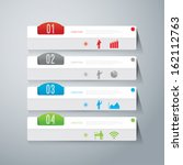 abstract 3d digital... | Shutterstock .eps vector #162112763