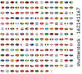 world flag collection | Shutterstock . vector #162141167