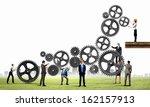 conceptual image of... | Shutterstock . vector #162157913