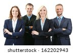 group of business people... | Shutterstock . vector #162202943