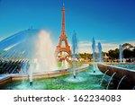 Eiffel Tower Seen From Fountai...