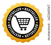bestseller vector symbol | Shutterstock .eps vector #162260567
