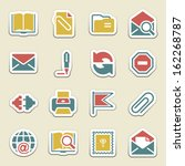 email color icons. | Shutterstock .eps vector #162268787