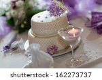 Traditional Wedding Cake With...