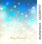 vector christmas background... | Shutterstock .eps vector #162284747