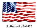 american flag | Shutterstock . vector #162319