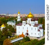 panoramic view of the orthodox... | Shutterstock . vector #162342587