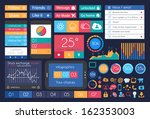 ui flat design elements for web ...