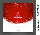 christmas banner | Shutterstock .eps vector #162377693