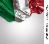Waving flag of italy  europe