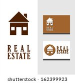 real estate house icon with... | Shutterstock .eps vector #162399923