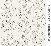 seamless pattern with spiral... | Shutterstock .eps vector #162473843