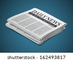 newspaper | Shutterstock .eps vector #162493817