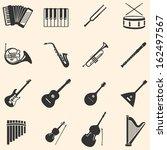vector set of 16  musical...