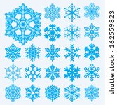 vector snowflakes. christmas...