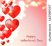 happy valentine s day greeting...   Shutterstock .eps vector #162589247