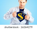 concept image of business... | Shutterstock . vector #16264279