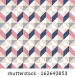 seamless triangle pattern.... | Shutterstock .eps vector #162643853