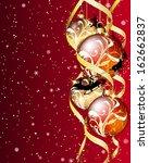 christmas  background | Shutterstock . vector #162662837