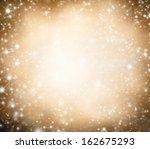 shimmering blur spot lights on... | Shutterstock . vector #162675293