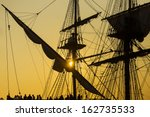 Sailing Vessel Silhouette