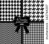 fashion pattern | Shutterstock .eps vector #162764207