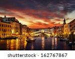 Ponte Rialto Gondola Sunset Venice - Fine Art prints