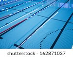 Swimming Pool With Race Tracks...