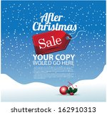 After Christmas Sale Backgroun...