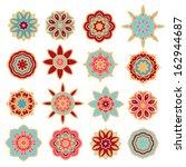 set of decorative elements | Shutterstock .eps vector #162944687