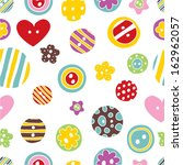 vector seamless pattern with... | Shutterstock .eps vector #162962057