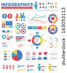 infographic medical design... | Shutterstock .eps vector #163053113