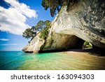 Cathedral Cove Marine Reserve...