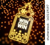 creative wonderful christmas... | Shutterstock . vector #163119197