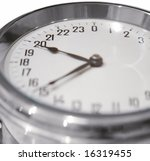 Small photo of ship's 24-hour clock