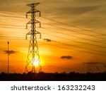 Electric Transmission Tower...