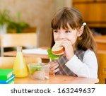 Portrait Schoolgirl Looking At...