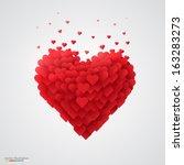 Valentines Heart. Vector...